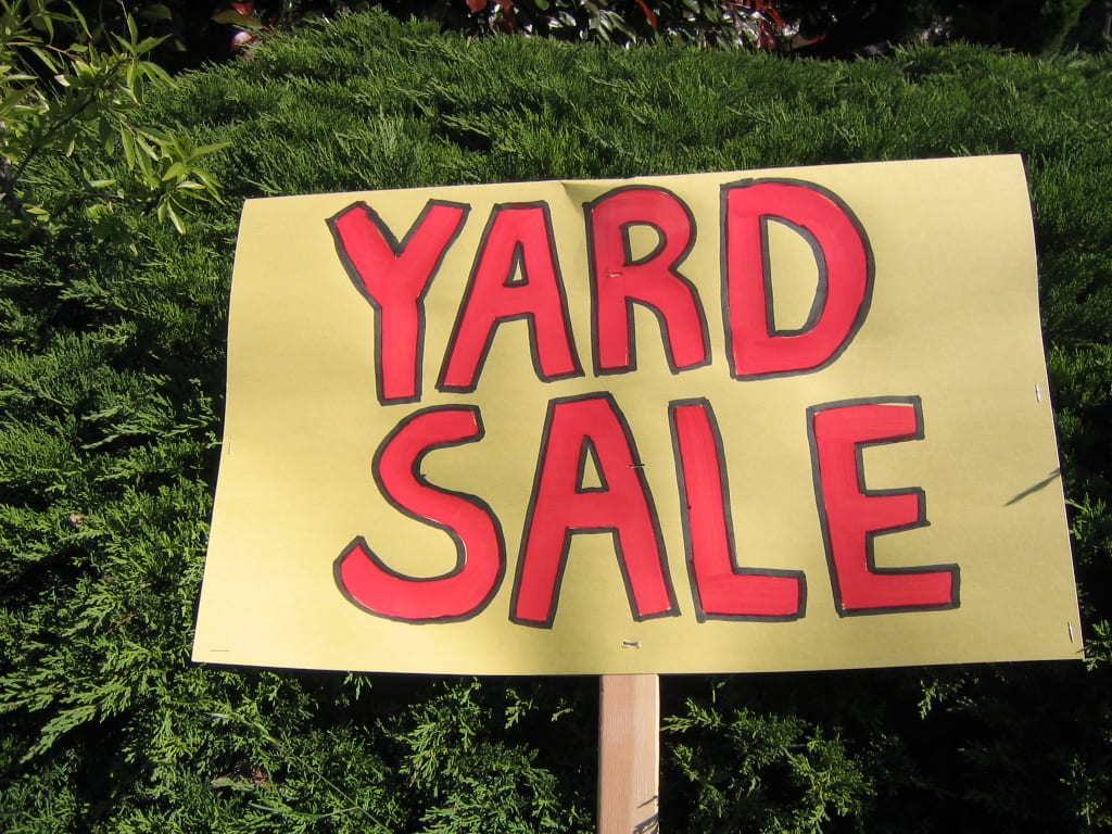 Yard Sale Update!